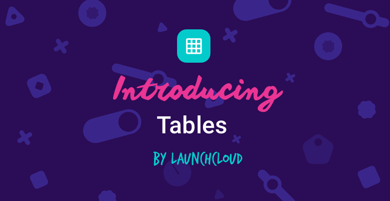 Introducing Tables By Array